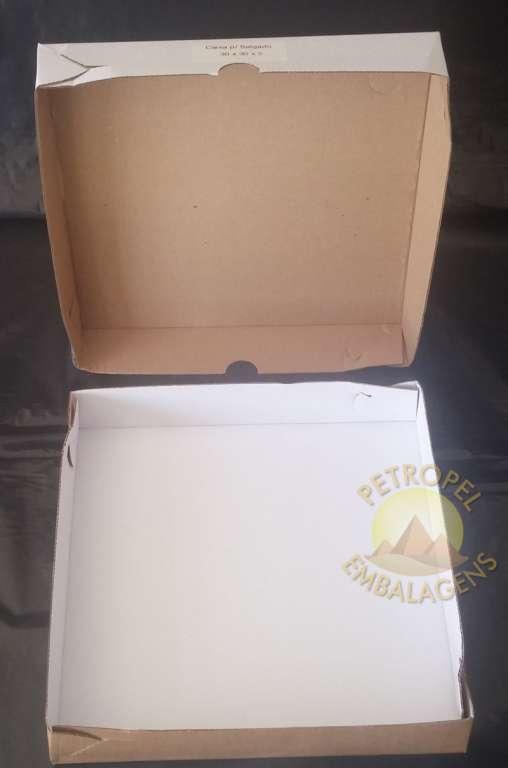 PETROPEL - CAIXA MICRO GRANDE 30X30X05 - PT.25UN