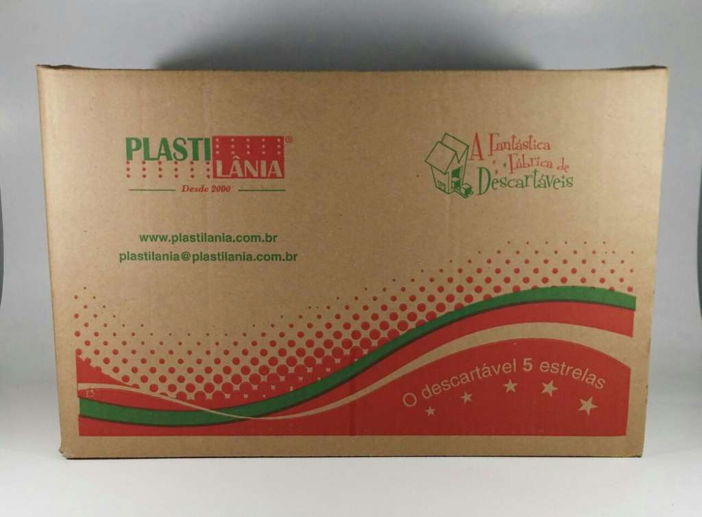 PLASTILANIA - FACA REFEICAO CRISTAL - CX.20X50UN