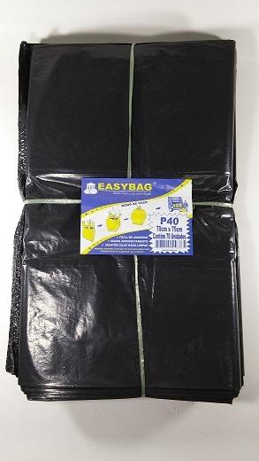 RMF - SACO PLASTICO EASY BAG P-020B COM ALCA - PT.150UN