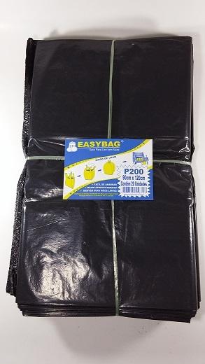 RMF - SACO PLASTICO EASY BAG P-200B COM ALCA - PT.20UN