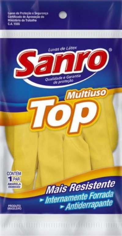 SANRO - LUVA TOP FORRADA AMARELA - M