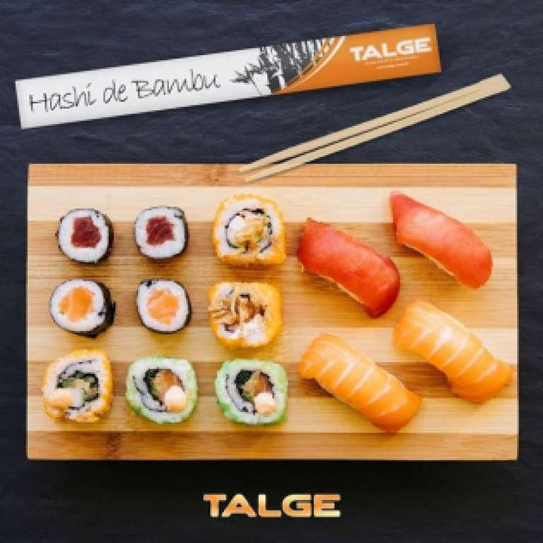 TALGE - HASHI EMBALADO - PT.100UN