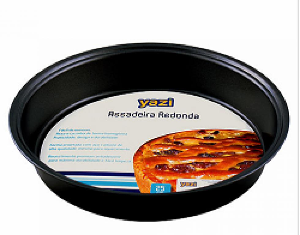 YANGZI - ASSADEIRA REDONDA 25X5CM