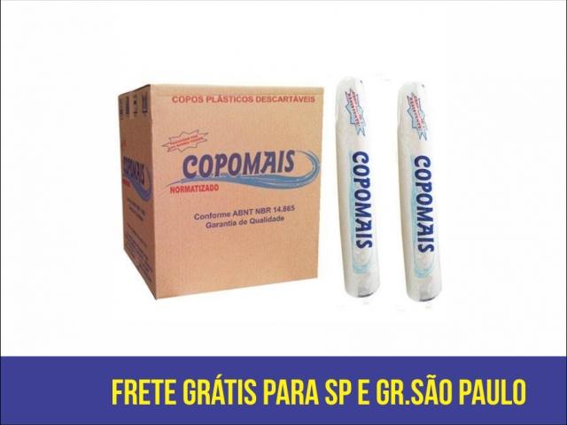 COPOMAIS - COPO 200ML BRANCO - CX.25X100UN